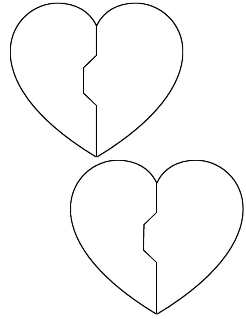 Tổng hợp các bức tranh tô màu hình trái tim cho bé
