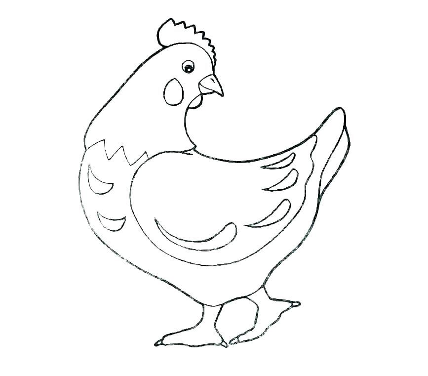Tổng hợp tranh tô màu con gà đẹp nhất