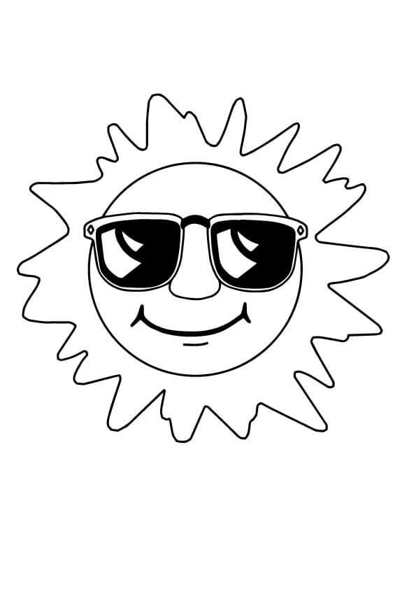 Tổng hợp tranh tô màu ông mặt trời đẹp nhất