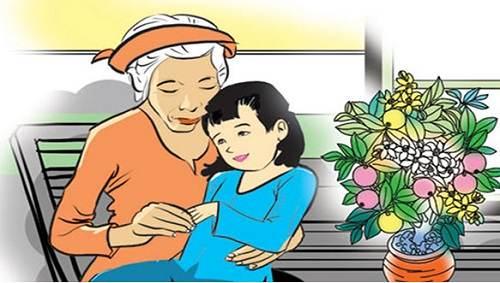 Cảm nghĩ về bà ngoại thân yêu