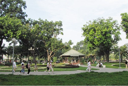 Tả cảnh công viên vào buổi sáng lớp 5