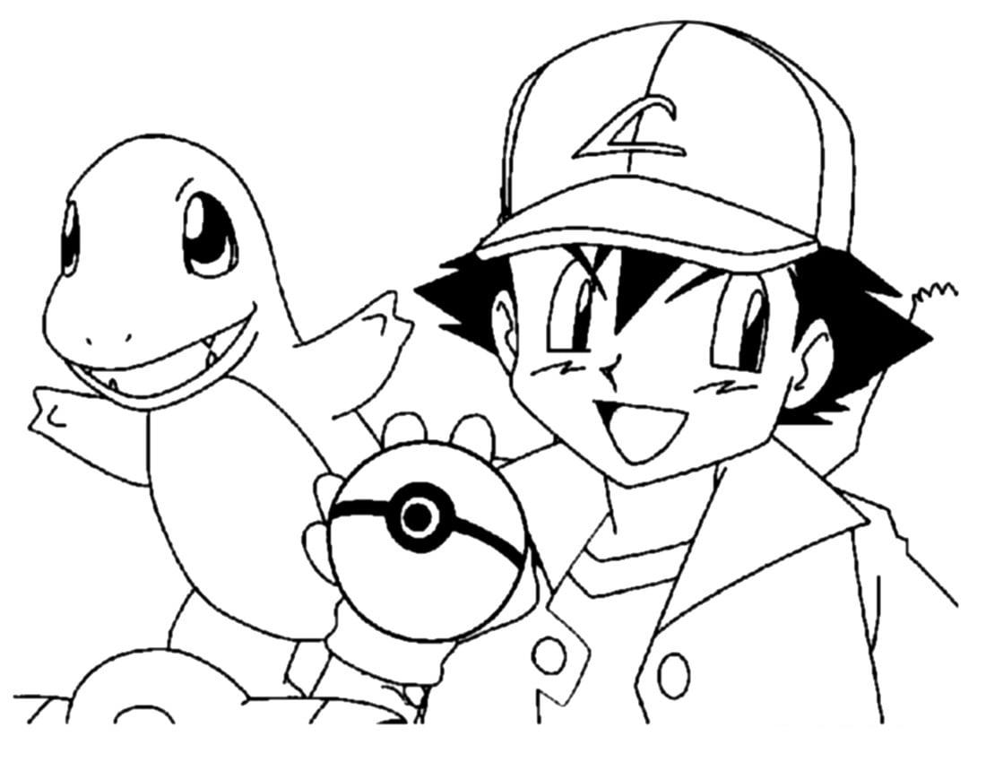 Những bức tranh tô màu Pokemon giúp bé thể hiện tư duy, tăng khả năng ghi nhớ