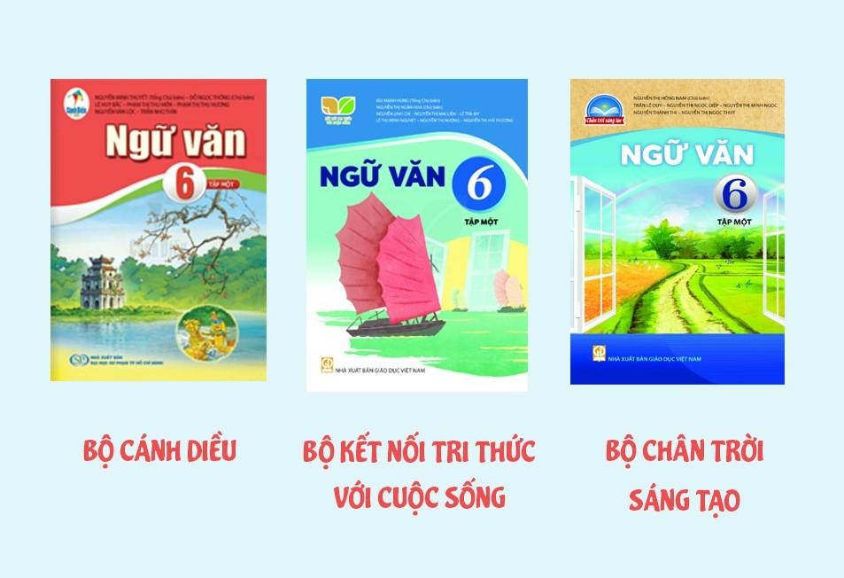 3 bộ sách giáo khoa lớp 6 năm 2021 2022 theo lộ trình thay sách của bộ